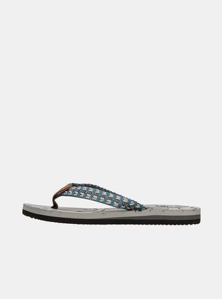 Papuče, žabky pre ženy SAM 73 - sivá
