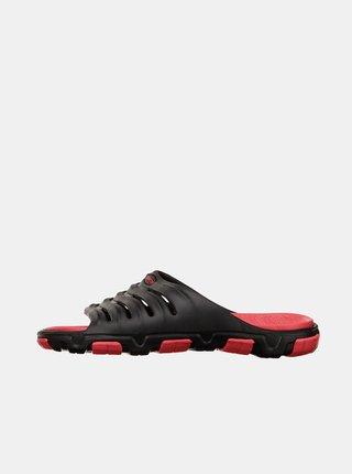 Sandále, papuče pre mužov SAM 73 - čierna, červená