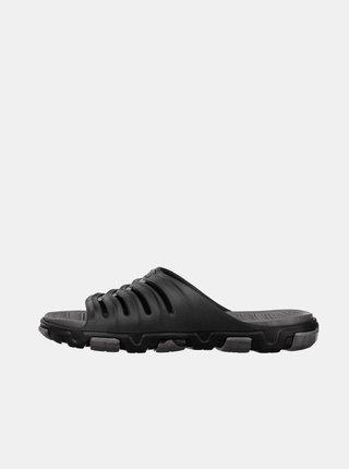 Šedo-černé pánské pantofle SAM 73