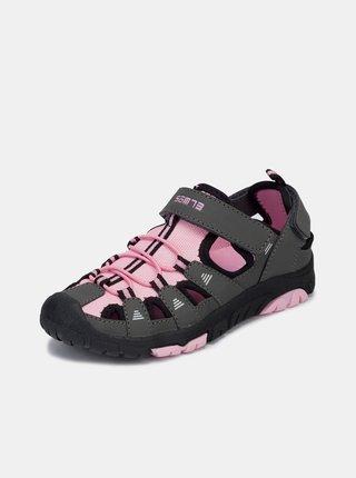 Šedo-růžové holčičí sandály SAM 73