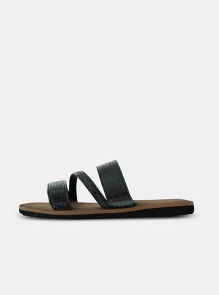 Černé dámské pantofle SAM 73
