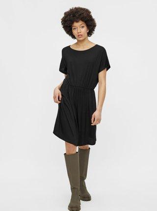 Čierne šaty Pieces Petrine