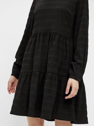 Černé šaty Pieces Belissi