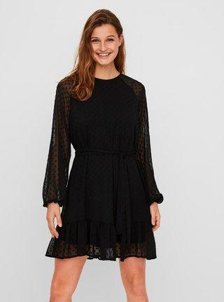 Čierne šaty VERO MODA Thea