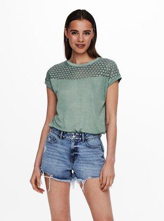 Zelené tričko ONLY