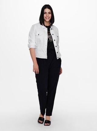 Bílá džínová bunda ONLY CARMAKOMA