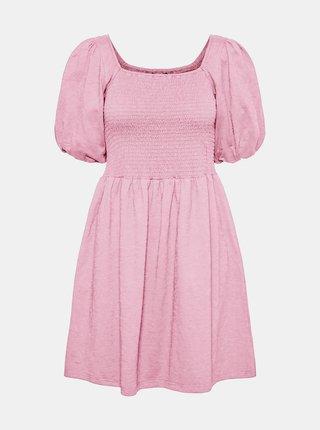 Růžové šaty VERO MODA Alina