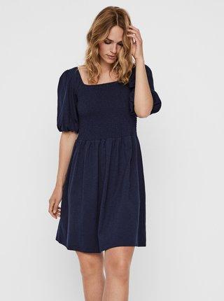 Tmavě modré šaty VERO MODA Alina