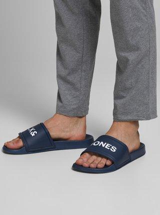 Modré pantofle Jack & Jones Larry