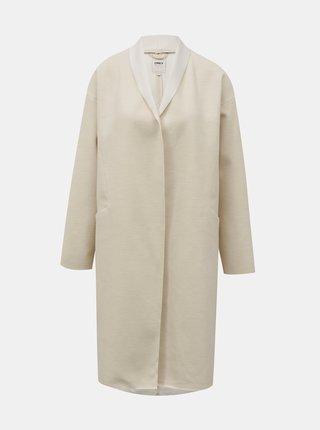 Krémový lehký kabát ONLY Cara