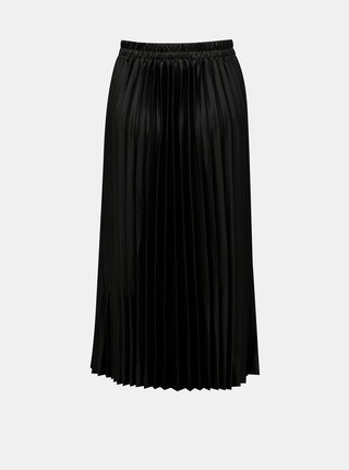 Černá plisovaná midi sukně ONLY Vettie