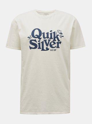 Biele tričko Quiksilver Quiksilver