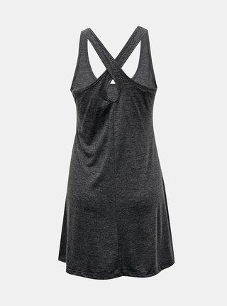 Tmavě šedé šaty Roxy