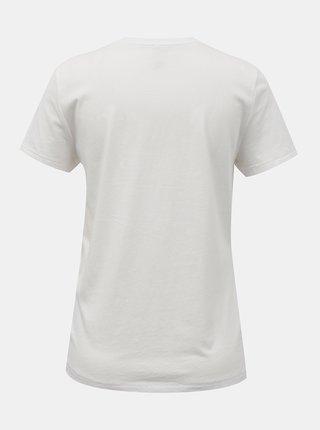 Bílé tričko s ozdobným detailem ONLY Kita