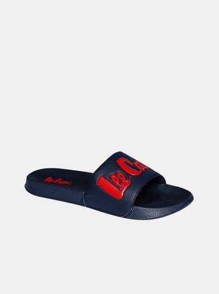 Tmavě modré pánské pantofle Lee Cooper