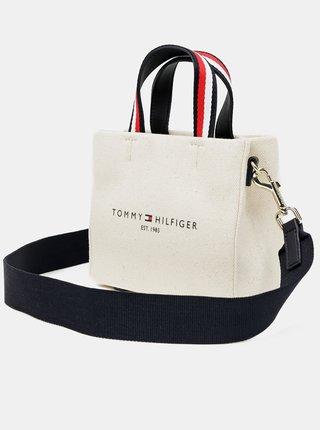 Tommy Hilfiger béžová 2v1 taška/kabelka Shopper Micro Tote Canvas