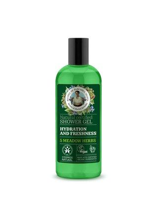 Bylinkářka Agafie Přírodní sprchový gel Hydratace 260 ml