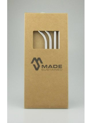 Made Sustained Sada nerezových brček s kartáčkem (4+1 ks)