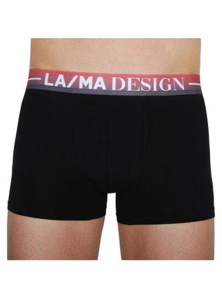 Pánské boxerky Lama černé