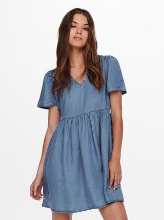 Modré džínové šaty ONLY Vera