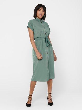 Zelené košilové šaty ONLY-Hannover