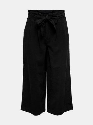 Černé culottes se zavazováním ONLY Aminta