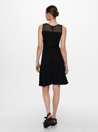 Čierne šaty ONLY Nicole