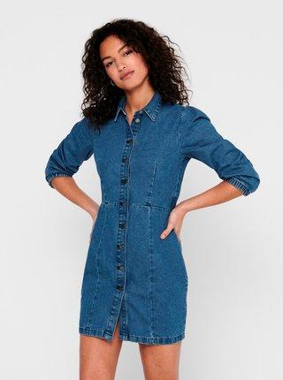 Modré džínové šaty Jacqueline de Yong Athena