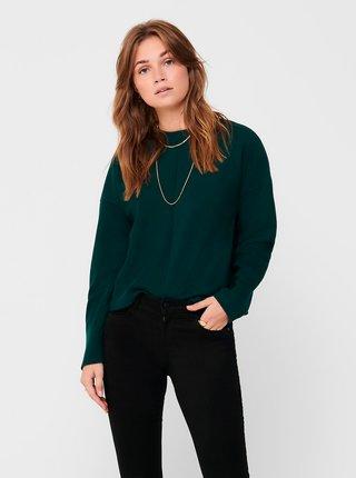 Tmavozelené tričko Jacqueline de Yong Gigi