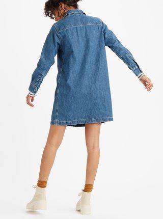 Modré džínové košilové šaty Levi's®