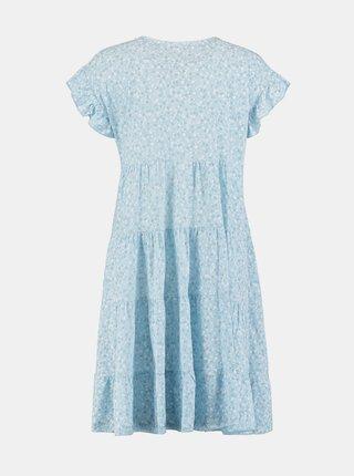 Modré kvetované šaty Hailys