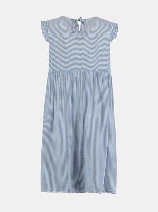 Modré pruhované šaty Hailys