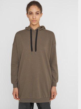 Khaki dámské mikinové šaty Noisy May-Hattie