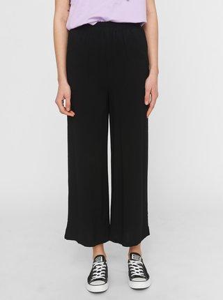 Černé zkrácené kalhoty Noisy May Fiona