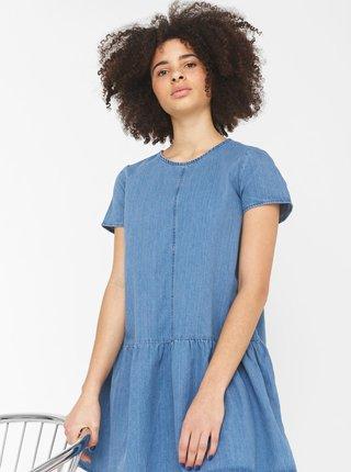 Modré džínové šaty Noisy May Emilia