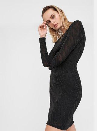 Čierne púzdrové šaty Noisy May
