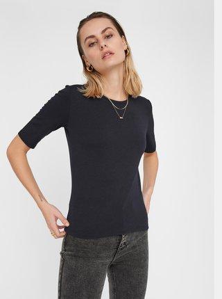 Černé tričko Noisy May Lina