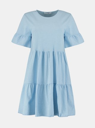 Svetlomodré voľné šaty Hailys