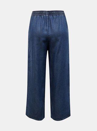Modré rifľové culottes ONLY Poppy