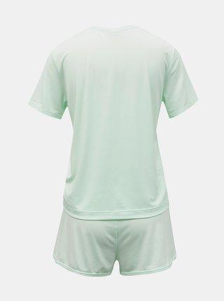 Calvin Klein tyrkysové pyžamo S/S Short set