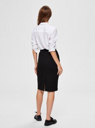Černá sukně Selected Femme Shelly