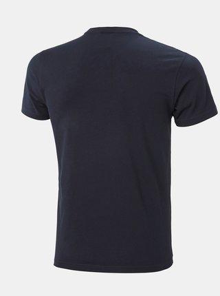 Tmavomodré pánske tričko s potlačou HELLY HANSEN