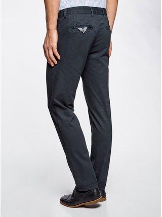 Nohavice typu chinos sa štepovanými vreckami OODJI