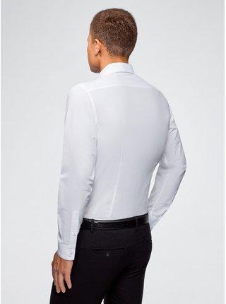 Košeľa klasická bavlnená OODJI