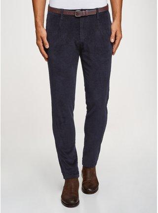 Kalhoty z manšestru se sklady  OODJI
