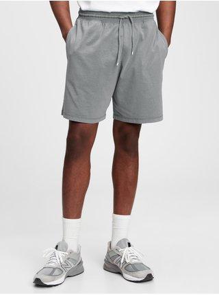 Šedé pánské kraťasy jersey shortS GAP