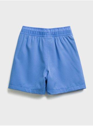 Modré klučičí dětské kraťasy quick dry shorts GAP