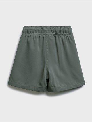 Šedé klučičí dětské kraťasy quick dry shorts GAP
