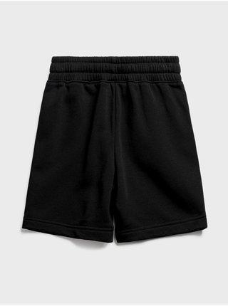 Černé klučičí dětské kraťasy jogger shorts GAP