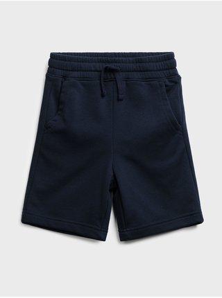 Modré klučičí dětské kraťasy jogger shorts GAP
